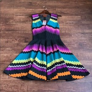Missoni size 6(40) Campionario multicolored dress